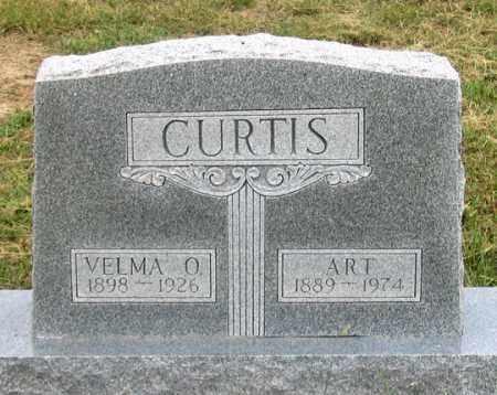 WILLIAMS CURTIS, VELMA O. - Dundy County, Nebraska | VELMA O. WILLIAMS CURTIS - Nebraska Gravestone Photos