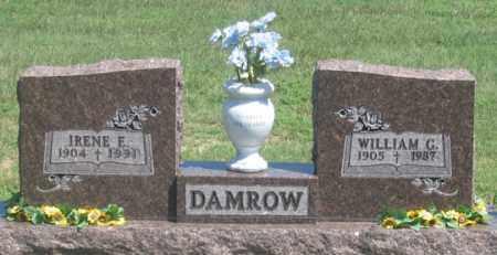 DAMROW, WILLIAM G. - Dundy County, Nebraska | WILLIAM G. DAMROW - Nebraska Gravestone Photos