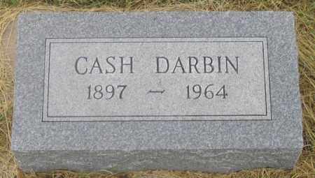 DARBIN, CASH - Dundy County, Nebraska | CASH DARBIN - Nebraska Gravestone Photos