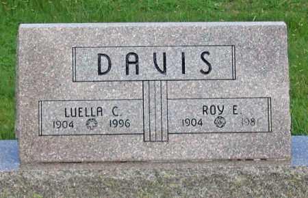DELAMATER DAVIS, LUELLA C. - Dundy County, Nebraska | LUELLA C. DELAMATER DAVIS - Nebraska Gravestone Photos