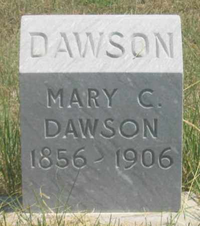 DAWSON, MARY C. - Dundy County, Nebraska | MARY C. DAWSON - Nebraska Gravestone Photos