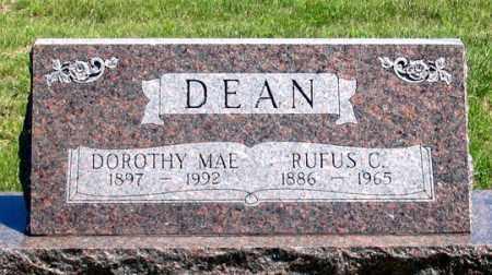 DEAN, RUFUS C. - Dundy County, Nebraska | RUFUS C. DEAN - Nebraska Gravestone Photos