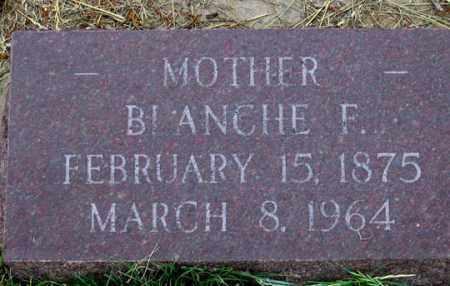 DEHART, BLANCHE F. - Dundy County, Nebraska   BLANCHE F. DEHART - Nebraska Gravestone Photos