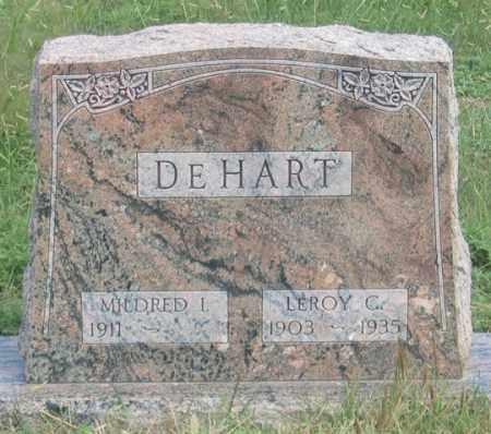 DEHART, MILDRED I. - Dundy County, Nebraska | MILDRED I. DEHART - Nebraska Gravestone Photos