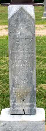 DELAWARE, BETTY - Dundy County, Nebraska   BETTY DELAWARE - Nebraska Gravestone Photos