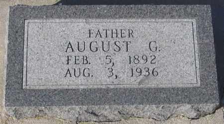 DENKER, AUGUST G. - Dundy County, Nebraska | AUGUST G. DENKER - Nebraska Gravestone Photos