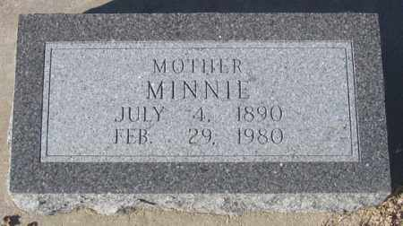 DENKER, MINNIE - Dundy County, Nebraska   MINNIE DENKER - Nebraska Gravestone Photos