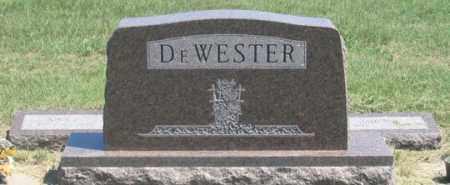 DEWESTER, JAMES M. FAMILY GRAVE SITE - Dundy County, Nebraska | JAMES M. FAMILY GRAVE SITE DEWESTER - Nebraska Gravestone Photos