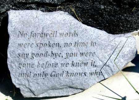DEWESTER, LINDSEY PRAYER - Dundy County, Nebraska   LINDSEY PRAYER DEWESTER - Nebraska Gravestone Photos