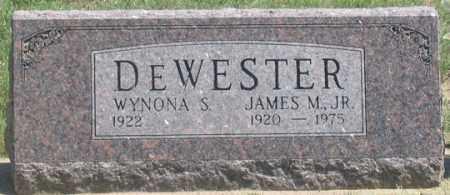DEWESTER, WYNONA S. - Dundy County, Nebraska | WYNONA S. DEWESTER - Nebraska Gravestone Photos
