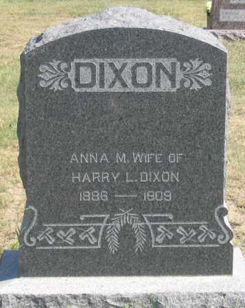 DIXON, ANNA M. - Dundy County, Nebraska | ANNA M. DIXON - Nebraska Gravestone Photos