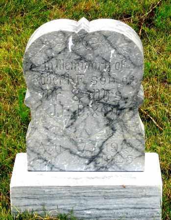 DIXON, ROBERT FRANKLIN - Dundy County, Nebraska | ROBERT FRANKLIN DIXON - Nebraska Gravestone Photos