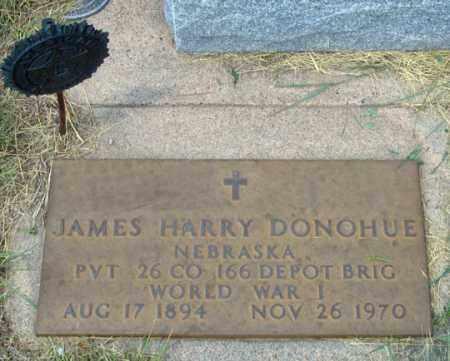 DONOHUE, JAMES HARRY - Dundy County, Nebraska   JAMES HARRY DONOHUE - Nebraska Gravestone Photos