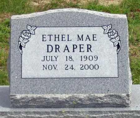DRAPER, ETHEL MAE - Dundy County, Nebraska | ETHEL MAE DRAPER - Nebraska Gravestone Photos