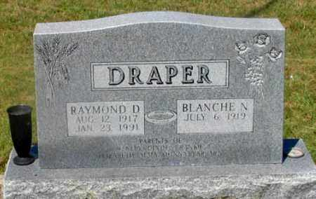 DRAPER, BLANCHE N. - Dundy County, Nebraska   BLANCHE N. DRAPER - Nebraska Gravestone Photos
