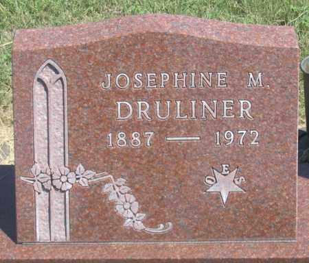 DRULINER, JOSEPHINE M. - Dundy County, Nebraska | JOSEPHINE M. DRULINER - Nebraska Gravestone Photos