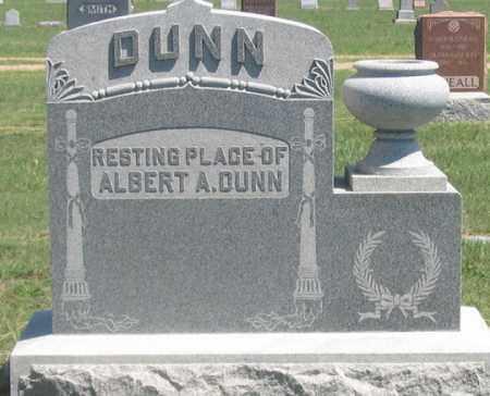 DUNN, ALBERT A. - Dundy County, Nebraska | ALBERT A. DUNN - Nebraska Gravestone Photos
