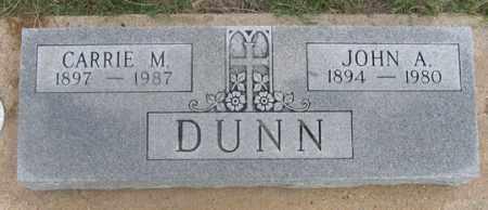 DUNN, CARRIE M. - Dundy County, Nebraska | CARRIE M. DUNN - Nebraska Gravestone Photos