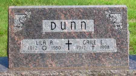 O'NEALL DUNN, LILA A. - Dundy County, Nebraska | LILA A. O'NEALL DUNN - Nebraska Gravestone Photos