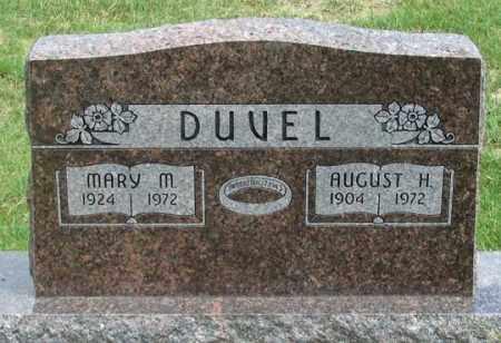 DUVEL, MARY MAE - Dundy County, Nebraska | MARY MAE DUVEL - Nebraska Gravestone Photos