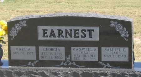 EARNEST, SAMUEL C. - Dundy County, Nebraska | SAMUEL C. EARNEST - Nebraska Gravestone Photos