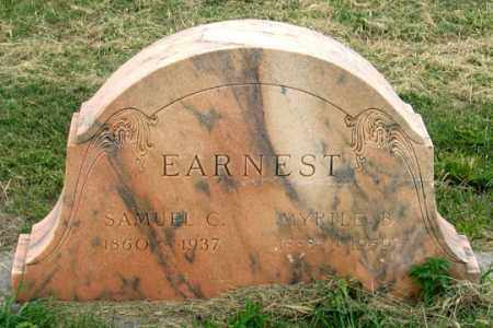 EARNEST, MYRTLE - Dundy County, Nebraska | MYRTLE EARNEST - Nebraska Gravestone Photos