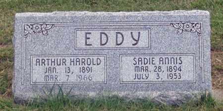 EDDY, SADIE - Dundy County, Nebraska | SADIE EDDY - Nebraska Gravestone Photos