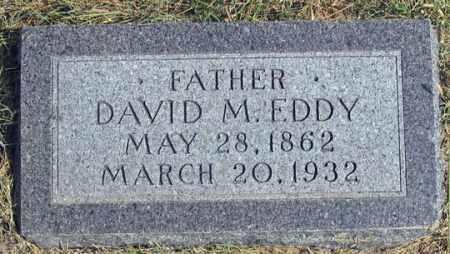 EDDY, DAVID MCCLELLAN - Dundy County, Nebraska | DAVID MCCLELLAN EDDY - Nebraska Gravestone Photos
