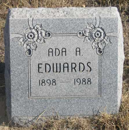 KUNTZ EDWARDS, ADA A. - Dundy County, Nebraska | ADA A. KUNTZ EDWARDS - Nebraska Gravestone Photos