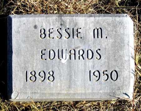 EDWARDS, BESSIE M. - Dundy County, Nebraska | BESSIE M. EDWARDS - Nebraska Gravestone Photos