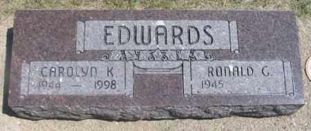 EDWARDS, RONALD G. - Dundy County, Nebraska | RONALD G. EDWARDS - Nebraska Gravestone Photos