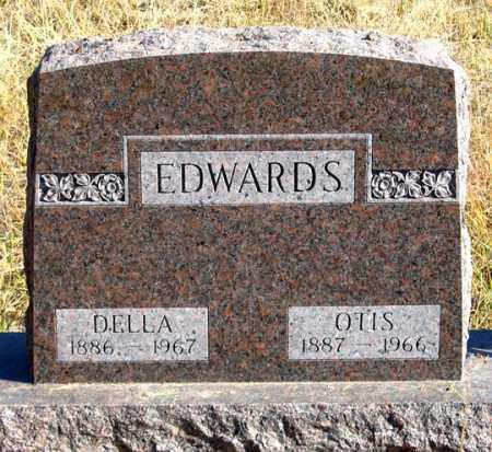 CAIN EDWARDS, DELLA - Dundy County, Nebraska | DELLA CAIN EDWARDS - Nebraska Gravestone Photos