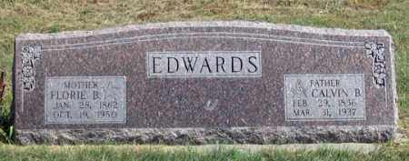 EDWARDS, CALVIN B. - Dundy County, Nebraska | CALVIN B. EDWARDS - Nebraska Gravestone Photos