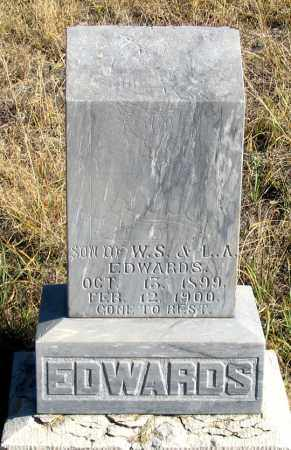 EDWARDS, HUBERT D. - Dundy County, Nebraska | HUBERT D. EDWARDS - Nebraska Gravestone Photos