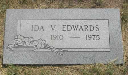 EDWARDS, IDA V. - Dundy County, Nebraska | IDA V. EDWARDS - Nebraska Gravestone Photos