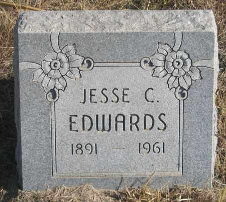 EDWARDS, JESSE C. - Dundy County, Nebraska   JESSE C. EDWARDS - Nebraska Gravestone Photos