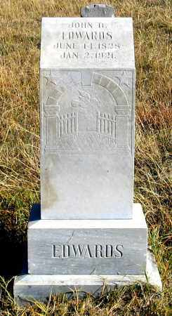 EDWARDS, JOHN B. - Dundy County, Nebraska   JOHN B. EDWARDS - Nebraska Gravestone Photos