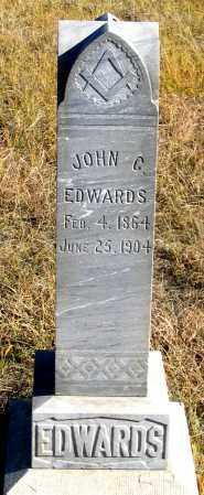 EDWARDS, JOHN C. - Dundy County, Nebraska | JOHN C. EDWARDS - Nebraska Gravestone Photos
