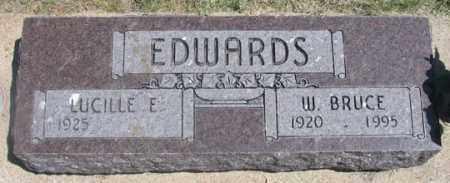 EDWARDS, W. BRUCE - Dundy County, Nebraska | W. BRUCE EDWARDS - Nebraska Gravestone Photos