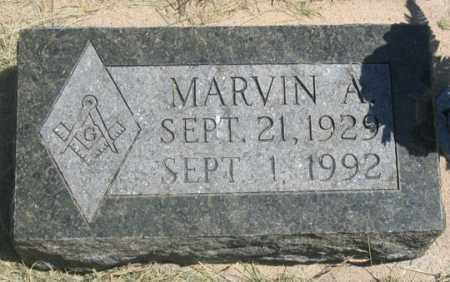 EDWARDS, MARVIN A. - Dundy County, Nebraska | MARVIN A. EDWARDS - Nebraska Gravestone Photos