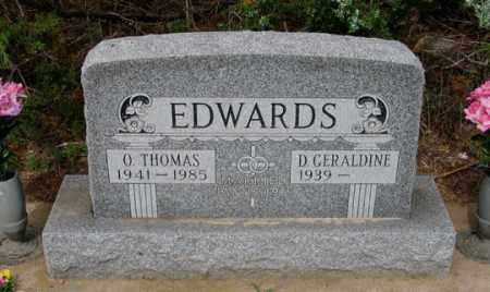 "EDWARDS, ORRIN THOMAS ""TOMMY"" - Dundy County, Nebraska   ORRIN THOMAS ""TOMMY"" EDWARDS - Nebraska Gravestone Photos"