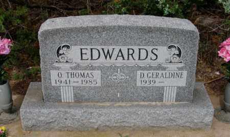REIMAN EDWARDS, D. GERALDINE - Dundy County, Nebraska | D. GERALDINE REIMAN EDWARDS - Nebraska Gravestone Photos