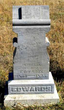 FITZGERALD EDWARDS, PERMELIA - Dundy County, Nebraska | PERMELIA FITZGERALD EDWARDS - Nebraska Gravestone Photos