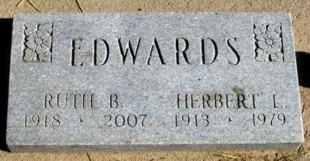 EDWARDS, RUTH B. - Dundy County, Nebraska | RUTH B. EDWARDS - Nebraska Gravestone Photos