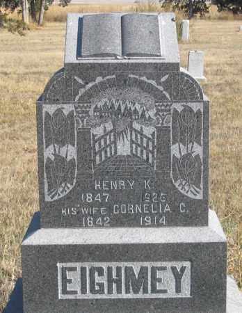 EIGHMEY, CORNELIA C. - Dundy County, Nebraska | CORNELIA C. EIGHMEY - Nebraska Gravestone Photos
