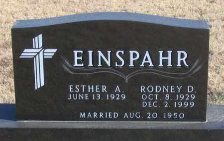 EINSPAHR, RODNEY D. - Dundy County, Nebraska | RODNEY D. EINSPAHR - Nebraska Gravestone Photos