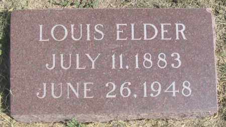 ELDER(S), LOUIS (LEWIS) - Dundy County, Nebraska   LOUIS (LEWIS) ELDER(S) - Nebraska Gravestone Photos