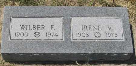 HILL ELLIOTT, IRENE V. - Dundy County, Nebraska | IRENE V. HILL ELLIOTT - Nebraska Gravestone Photos