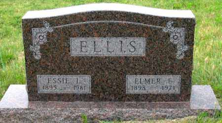 ELLIS, ELMER E. - Dundy County, Nebraska | ELMER E. ELLIS - Nebraska Gravestone Photos