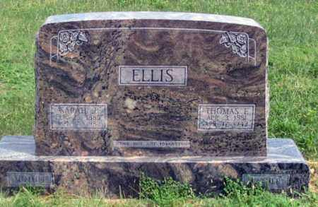 GROCE ELLIS, SARAH J. - Dundy County, Nebraska | SARAH J. GROCE ELLIS - Nebraska Gravestone Photos